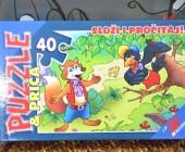 PUZZLE 40pcs-RAZNI MOTIVI NC0022